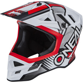 O'Neal Blade Polyacrylite Casco Delta, white/red